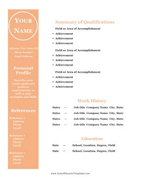 Open Office Template Resume viawebco