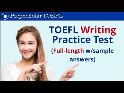 TOEFL Writing Templates - Amazon S3
